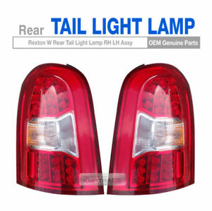 OEM Parts Rear Tail Light Lamp Assembly LH RH for SSANGYONG 2013 - 2017 Rexton W