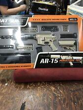 GoatGuns Miniature AR15 FDE 1:3 Scale Die Cast Model Replica Toy