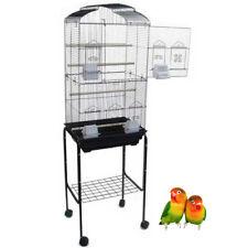 "NEW 64"" New Budgie Canary Parakeet Cockatiel LoveBird Finch Bird Cage Stand 290"