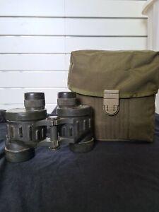 PLATATAC Steiner Binocular Pouch And Used NSN Binoculars