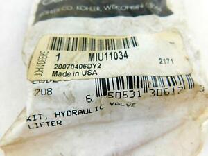 OEM Genuine Kohler # MIU11034 Hydraulic Valve Lifter Kit in Bag NOS