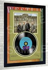 Westlife Spectrum SIGNED FRAMED PHOTO AND Mini LP
