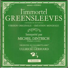 "MICHEL DINTRICH ""GREENSLEEVES"" GUITARE CLASSIQUE 60'S EP BARCLAY 79.020"