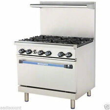 "Turbo Air 36"" Radiance Restaurant Range 6 Burner Still In The Box & On Pallet"