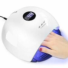 Nail Lamp 72W UV LED Nail Dryer Painless Curing Lamp with Automatic Sensor LED