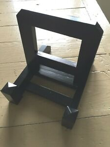 Dark Stained Wooden Adjustable Plate Holder/Display Easel