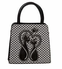 Dancing days GODIVA Borsa Gatto Love Carini Kitty Borsetta Art Deco