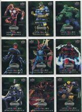 Marvel Vibranium Complete Hero Pow-Ore Chase Card Set HP1-20