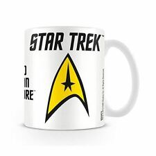 Star Trek Logo 'Boldly Go' Coffee Mug - Boxed Retro Gift