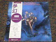 Moody Blues ON THE THRESHOLD OF A DREAM Japan Import LP OBI Audiophile Vinyl