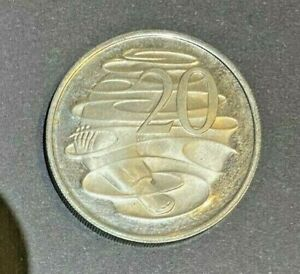 Very Rare 20c Double Reverse PROOF (Struck with Two Reverse Dies)