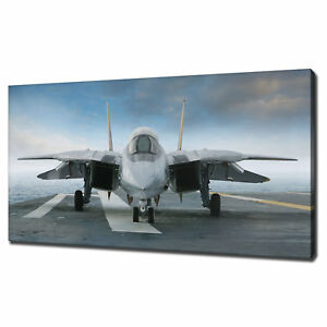 F 14 TOM CAT CANVAS PRINT PICTURE WALL HANGING ART HOME DECOR FREE DELIVERY