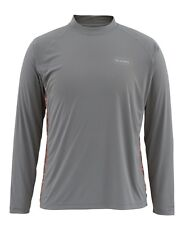 Simms SOLARFLEX Long Sleeve Crewneck ~ NEW Tri Geo Charcoal ~ XL ~ CLOSEOUT