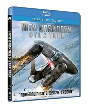 STAR TREK: INTO THE DARKNESS - 3D /2D Blu-Ray Disc - X2 Blu Ray Discs !