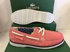 Lacoste CORBON W4 Women's Boat Sneakers Shoes, Size UK 4 EU 37