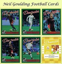 DONRUSS Soccer 2016 ☆ DOMINATOR SILVER PARALLEL ☆ Football Cards #1 to #50