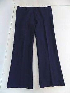 Betabrand Women's Classic Pull-on Dress Yoga Pants Sz XL Petite Navy