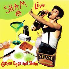 CD - SHAM 69 - Green eggs and sham - Live