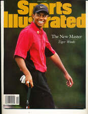 4/21 1997 Sports Illustrated Tiger Woods nm no label bxs12