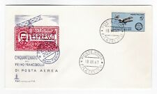 Italy 1967 FDC Express Stamp Espresso Rome - first day cover Airmail Aviation