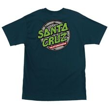Santa Cruz x Tmnt Teenage Mutant Ninja Turtles Sewer Dot Shirt Harbor Blue Xxl