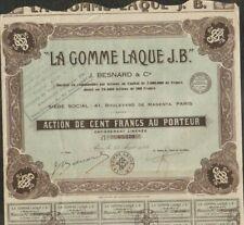 LA GOMME LAQUE J.B. (INDOCHINE) (A)