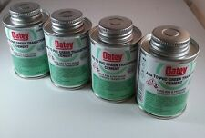 4 NEW OATEY Cans ABS to PVC Transition Cement, Green, 4-Ounce #30900 FREE SHIP!