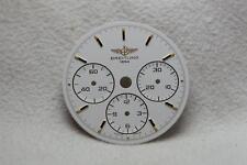 Genuine Breitling Callisto CRONOGRAFO QUADRANTE BIANCO - 26,5 mm NOS RIF 80520 CAL 11