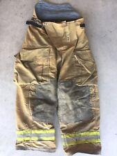 Firefighter Turnout Bunker Pants Globe 34x28 2002 Bib Style Halloween Costume