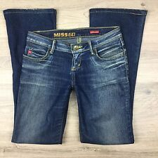 Miss Sixty Extra Low Ty Boot Cut Women's Jeans Size 25 L31.5 (HH14)