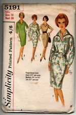 """Vintage 1950's Simplicity Sewing Pattern 5191 (Bust 38"""") Uncut - Fitted Dress"""