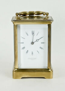 French carriage clock @ 1890 Excellent restored working