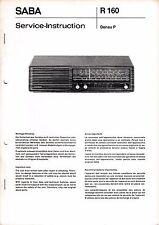 Service Manual-Anleitung für Saba Donau P, Donau S