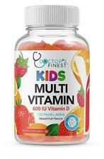 Doctors Finest Multivitamin Gummies for Kids, GMO-Free & Gluten Free, 120 Count