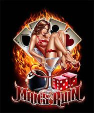 "MAN'S RUIN (VICES- GAMBLING, DRINKING, WOMEN) POSTER   MEDIUM 16"" X 20"""