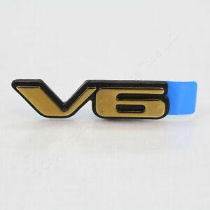 Pontiac Grand Am Chevrolet Malibu V6 Emblem Nameplate Badge OEM 22658813