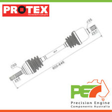 New *PROTEX* Drive Shaft For HYUNDAI EXCEL X2 1.5 ltre. G4DJ I4 8V SOHC