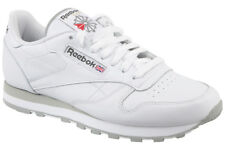 Reebok Classic Leather Trainers Shoes White 2214 Leisure Sports Fitness UK 12