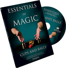 Essentials in Magic Cups and Balls - DVD - Street Magic - Giochi di Magia