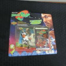 1996 Upper Deck SpaceJam Michael Jordan Figure Sealed but Creased package #3