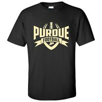 Purdue Boilermakers Football Rush T-Shirt - Black