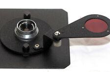 Wollensak RAPTAR 50mm f/4.5 Enlarger Lens w/ Automega Lens Board From Beseler B5