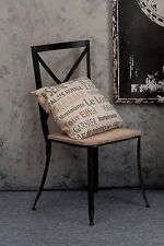 VINTAGE FRENCH CHARM WORD PILLOW ** CHARMING PARISIAN DECOR ** $49 **