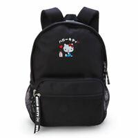 Sanrio Hello Kitty Katakana Kitty Backpack Black 2020 New kawaii