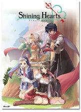Shining Hearts Key Art Group Wall Scroll Anime Manga NEW