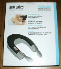 Homedics Vibration Neck Massager with Heat  Brand New .