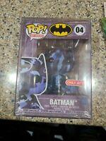 Funko Pop! 04 Batman Art Series Target Exclusive IN HAND POP Version 4