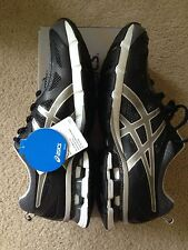 Asics Men Shoes Gel Fierce Black Onyx Size 9.5 $109 Running Course Athletic
