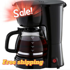 🌟5 Cup🌟 Coffee Maker with Removable Filter Basket, Ergonomic Handle NEW(USA!!)