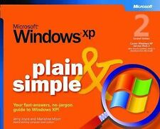 Microsoft Windows XP Plain and Simple by Jerry Joyce, Marianne Moon...